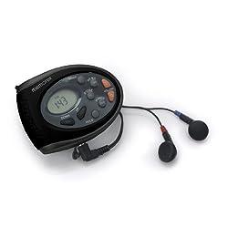Memorex MR4402BK Sport Armband & Neck Strap Digital AM/FM Radio Clock Function Built-in Belt Clip & Earbuds (Discontinued by Manufacturer)
