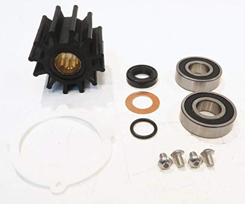 - The ROP Shop | Water Pump Repair Kit for Johnson 09-812B, 09-45825, F6B-9 Inboard Engines
