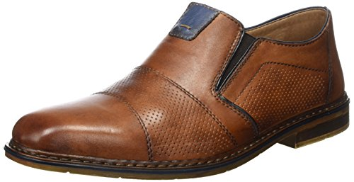 Royal 40 Marron Mocassins Rieker Navy EU B1765 Marron Homme Amaretto 4Txxp8S