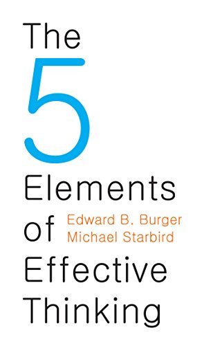 The 5 Elements of Effective Thinking (Quick Shadow Mount)