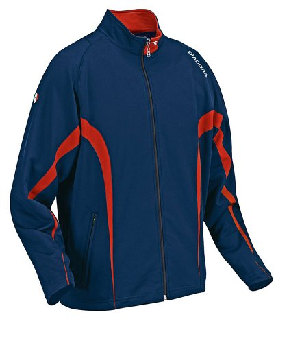 Diadora Boy's Ermano Full Zip Pockets Jacket NAVY YM by Diadora (Image #1)