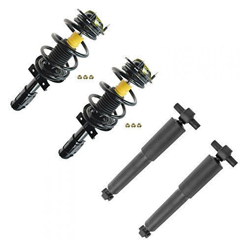 Front & Rear Loaded Complete Strut Assembly Shock Absorber Kit 4pc for Acadia
