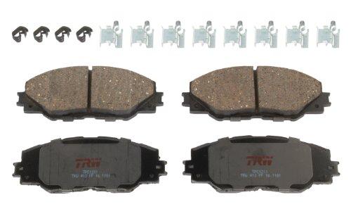 TRW TPC1211 Premium Ceramic Front Disc Brake Pad Set (Best Grunt Calls 2019)