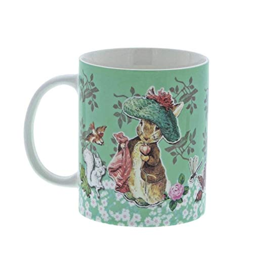 Official Beatrix Potter Benjamin Bunny Ceramic Coffee Mug Cup
