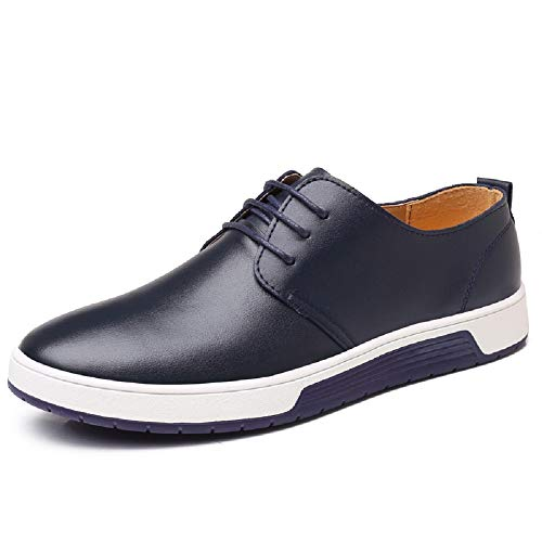 Lackleder Anzugschuhe 48 1 Blau Hochzeit Lederschuhe Herren Business Blau Braun Derby Schwarz 38 Oxford Schnürhalbschuhe Casual OawqxndYZ