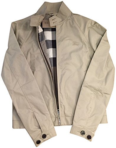 Burberry Brit Amhurst Heritage Stone Beige Jacket Large - Burberry Coat Men
