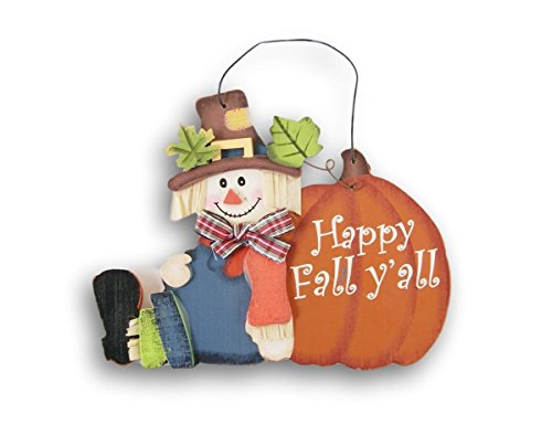 Wooden Miniature Happy Fall Yall Autumn Decor Sign - 6 x 4.5 Inches from Hobby Lobby