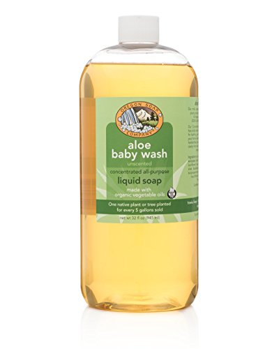 Oregon Soap Company - Liquid Castile Soap, Certified Organic and Natural Ingredients, Concentrated Multipurpose Soap (32oz, Unscented)