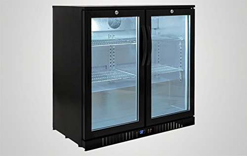 NSF Commercial Back Bar Beer Bottle case Refrigerator Cooler