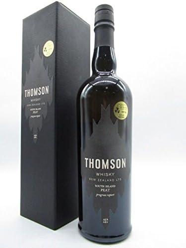 トムソンウイスキー サウスアイランド ピート シングルモルト (ニュージーランド産) 46度 700ml [並行輸入品]