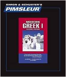 Amazon.com: Pimsleur Greek (Modern) Level 1 CD: Learn to ...