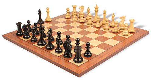 Mahogany Maple Chess Board - 7