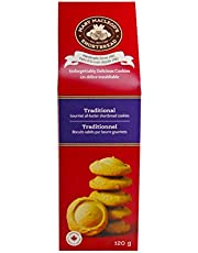 MARY MACLEOD'S SHORTBREAD Peaked Box of Traditional Shortbread Cookies, 120 Grams