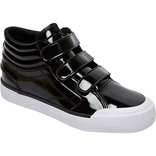 DC Women's Evan Hi V SE Skate Shoe, Black, 7 B US