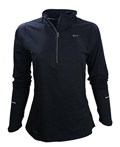 Nike Women's Element Black Zip Up (X-Large)