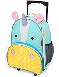 Kids Luggage with Wheels, Unicorn