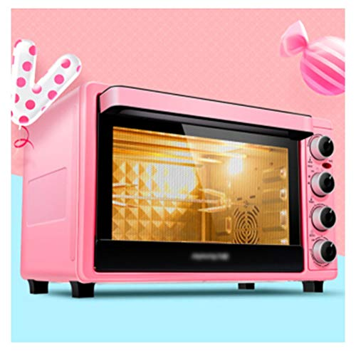 KDJHP Oven Toaster Electric Oven Home Multi-function Independent Temperature Control With Furnace Lamp Fork - oven toastation ()