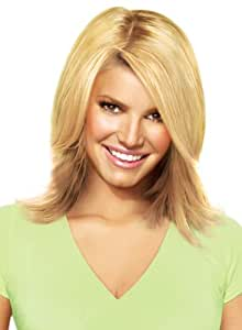 """hairdo from Jessica Simpson and Ken Paves 14"""" Clip-In Extension, Layered Flip, Ginger Blonde"""