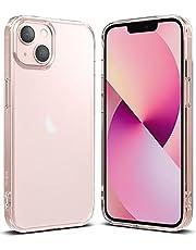 Ringke Fusion متوافق مع جراب iPhone 13 ، غطاء هاتف ممتص للصدمات ومضاد لبصمات الأصابع وشفاف وشفاف من مادة البولي يوريثين الحراري الناعم المقاوم للصدمات لـ 6.1 بوصة (2021) - شفاف غير لامع