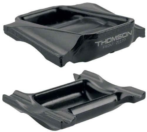 Thomson Top and Bottom Clamp for Elite Seat Post (Black)