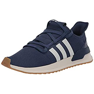 adidas Originals Men's U_Path Run Sneaker, Tech Indigo/Off White/Gum, 5