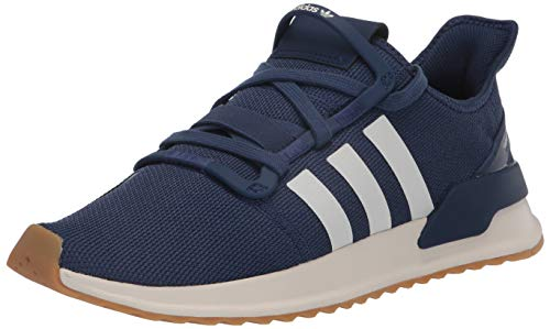 adidas Originals Men's U_Path Run Sneaker, Tech Indigo/Off White/Gum, 4.5