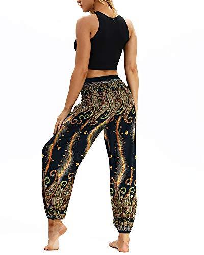 Allenamento Donna Pants Sciolti Yoga Hippy Etnici Harem Danza Pilates Pantaloni 041 Pantalone Fitness ZBzqZ1