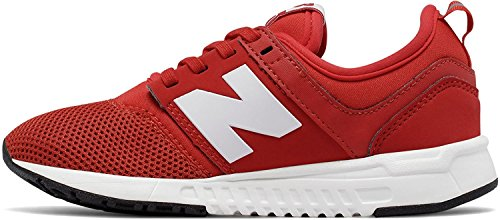 white Red Kids' New Balance Kl247ccp RqOyw07