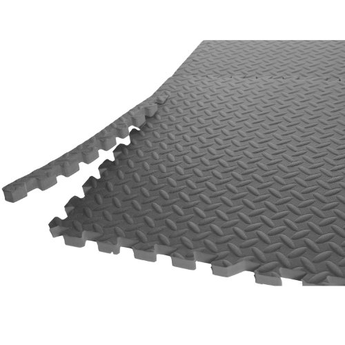 Barbell Puzzle Exercise Interlocking Tiles