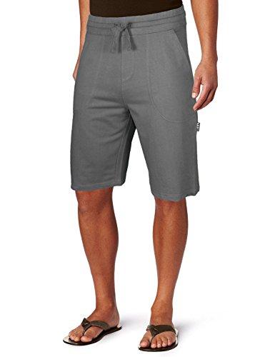 Pro 5 Men's Premium Terry Fleece Shorts-Charcoal-XL (Terry Fleece)