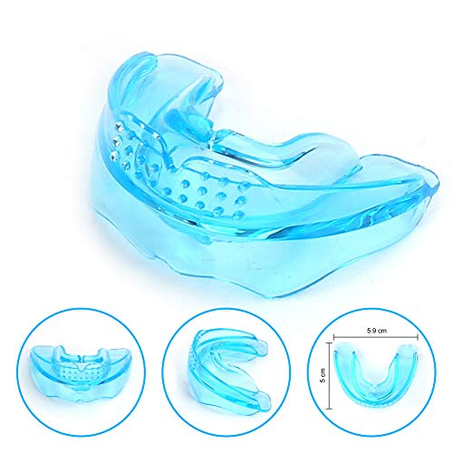 Mouth Guard - Sports Braces Anti Grinding Teeth Protectors, Athletic Teeth Mouth Guard Adopt Medical Grade Silicone Double Protection Your Teeth & Braces - Fit Any Size Mouth Age 12+