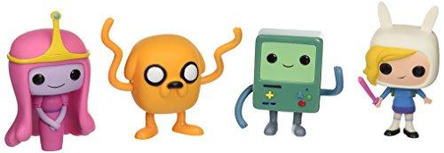 Funko Adventure Time POP! TV Vinyl Collectors Set (Jake, Princess Bubblegum, BMO, Fionna)