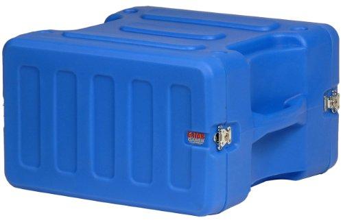 Gator G-PRO-6U-19-BL Pro Series Molded Mil-Grade PE Rack Case, Blue ()
