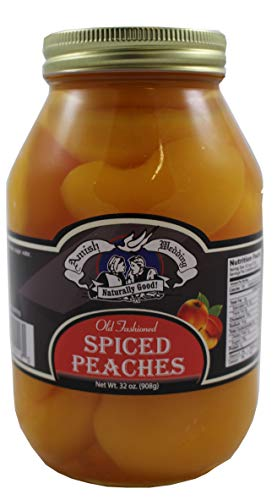 Troyer Cheese Inc Quart Spiced Peach Halves 32oz