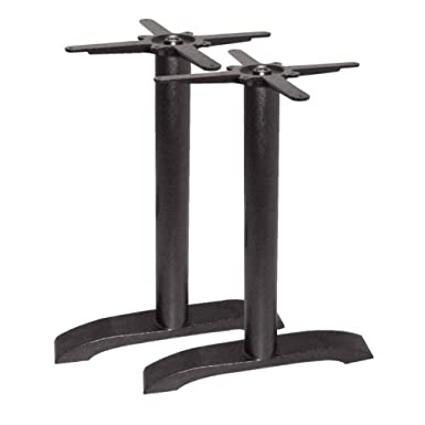 Bolero dn642doble pierna Base de mesa, hierro fundido
