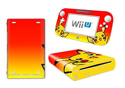 EBTY-Dreams Inc. - Nintendo Wii U - Pokemon Anime Pikachu Vinyl Skin Sticker Decal Protector