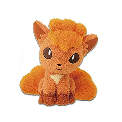 """Pokemon Sun and Moon Vulpix 10"""" Character DX Plush Toy Soft Fuzzy Doll Collection Anime Art: Toys & Games"""