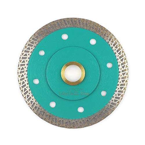 Porcelain Blade,Stylish Y&I Tile Blade Super Thin Ceramic Diamond Saw Blades for Grinder Tile Cutter With Adapter 7/8
