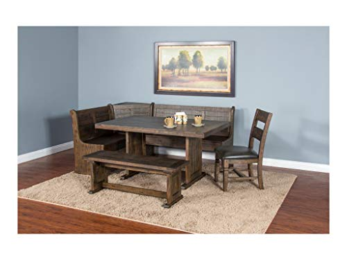 - Homestead Breakfast Nook with Side Bench and Single Chair