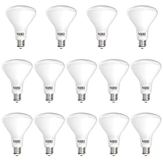 Sunco Lighting 14 Pack BR30 LED Bulb 11W=65W, 5000K Daylight, 850 LM, E26 Base, Dimmable, Indoor Flood Light for Cans - UL & Energy Star