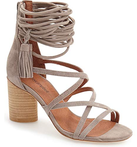 (Jeffrey Campbell Women's Despina Sandals, Taupe, 11 B(M) US)