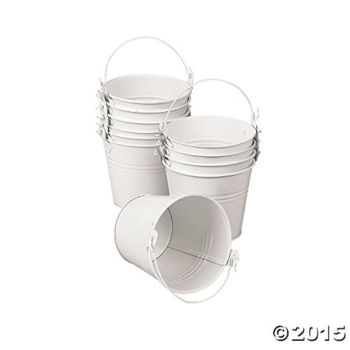White Tinplate Pail Handle dozen