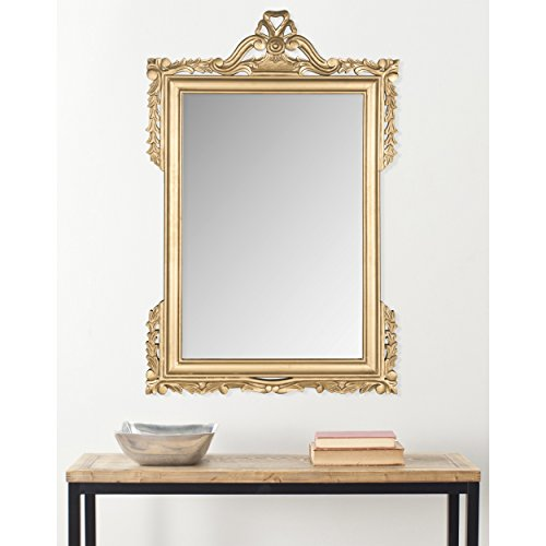 Safavieh Home Collection Pedimint Mirror, Gold by Safavieh