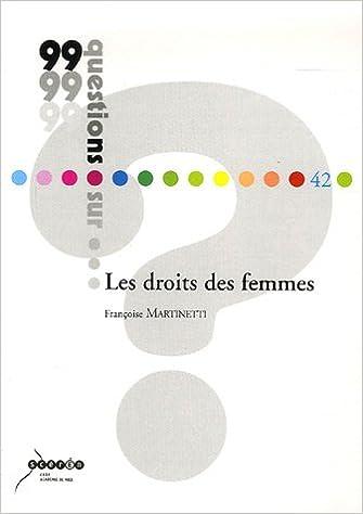 Livre gratuits en ligne Les droits des femmes pdf