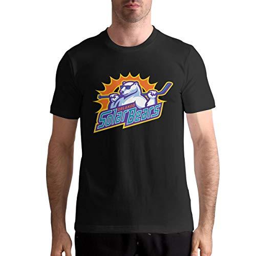 - CharlieRGill Orlando Solar Bears Hockey Men Motion Tee Athletic 6XL Black