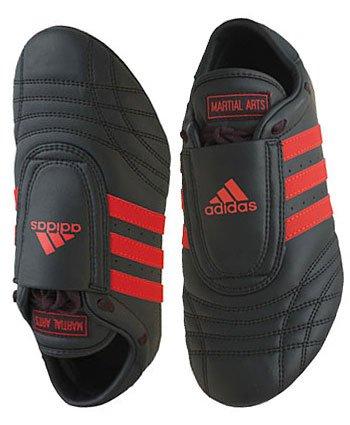 Adidas Martial Arts Shoes - sm-II Black/Red Stripes