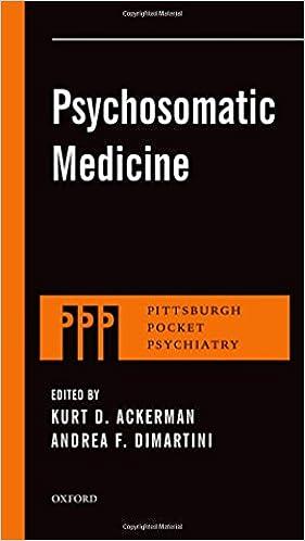 Psychosomatic Medicine (Pittsburgh Pocket Psychiatry Series