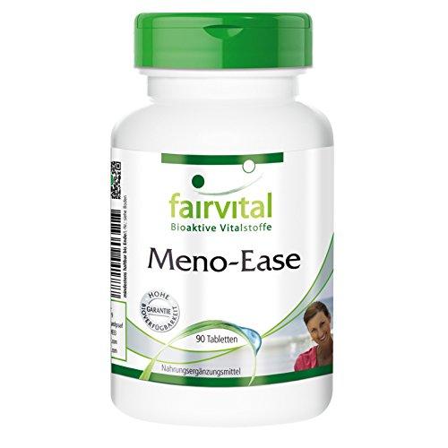 Meno-Ease für die Wechseljahre natürliche Inhaltsstoffe Yamswurzel Dong Quai, 90 vegetarische Tabletten