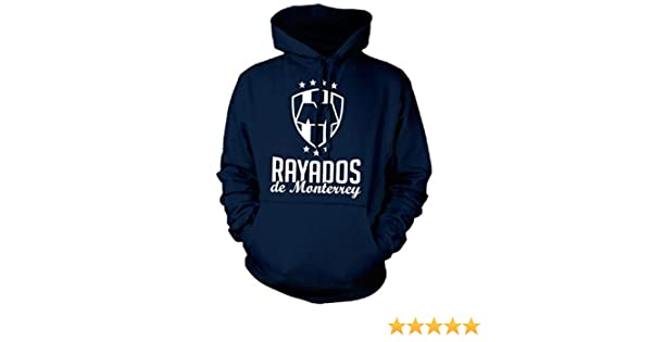 Amazon.com: New! Rayados de Monterrey Crest Mens Hooded Sweatshirt: Clothing