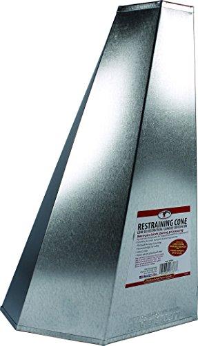 Miller RC2 957783 Poultry Steel Restraining Cone, Medium, ()